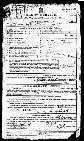 Arthur Ward's enlistment papers